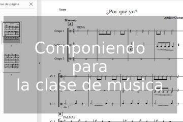 Componiendo para la clase de música