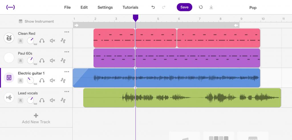 Editamos un audio con Soundtrap